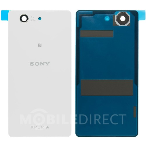 akkudeckel backcover white f r sony xperia z3 compact. Black Bedroom Furniture Sets. Home Design Ideas