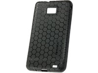 Back Cover Honeycomb-black für Samsung I9100 Galaxy S2