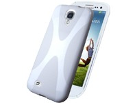 Rubber Case X-Design white für Samsung I9500, I9505 Galaxy S4