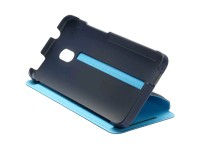 HTC Flip Case HC V851 dark-blue / light-blue One Mini M4 - 99H11284-00