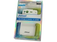 Jekod Super Cool Protective Case white für HTC Desire S
