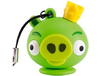 Emtec 4 GB USB Angry Bird Green Pig Crown