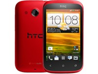 HTC Desire C - flamenco red