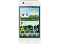 LG P970 Optimus Black - white