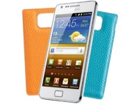 Samsung I9100 Galaxy S II - ceramic white + Wechselcover