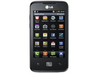 LG E510 Optimus Hub - black