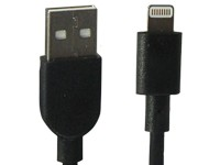 Apple Lizenz USB Lightning-Datenkabel black für iPhone 5