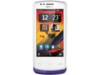 Nokia 700 - white purple