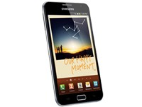 Samsung N7000 Galaxy Note - blue
