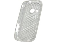 Silicon Case transparent-Diamond clear für Samsung S6500 Galaxy Mini 2