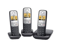 Gigaset A400 Trio-ECO DECT-schw.