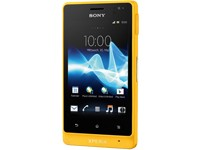 Sony Xperia Go - warm yellow