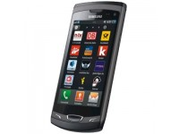 Samsung S8530 Wave II - ebony gray