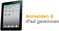 Newsletter anmelden und IPad gewinnen