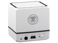 Snakebyte Audio:Cube - Li-Polymer Bluetooth Lautsprecher white