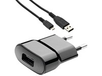 BlackBerry USB-Ladeadapter ASY-44303-002 + microUSB-Datenkabel ASY-18685-001