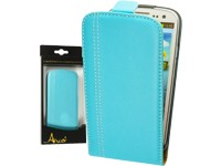 Anco FlipCase RACE light-blue für Samsung I9300 Galaxy S3