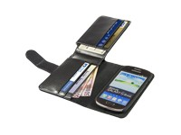 Anco Premium Book Case Traveller black für Samsung I8190 Galaxy S3 mini