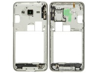 Middle cover white für Samsung J320F Galaxy J3 (2016) - GH98-38689A