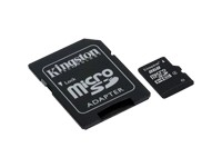 Kingston MicroSDHC 8GB inkl. SD-Adapter