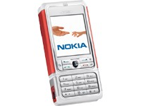 Nokia 3250 - white red / Restposten