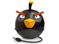 Gear4 PG779G Angry Birds Classic Black Bird Mini-Lautsprecher