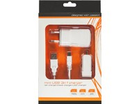 3 in 1 Micro-USB Ladeset white 1,1 A