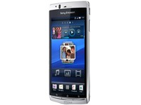 SonyEricsson Xperia ARC S - misty silver