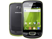 Samsung S5570 Galaxy mini - lime green
